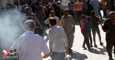السيطرة على حريق هائل بمستشفى الحسين الجامعى ونقل المرضى لمستشفيات جامعة الأزهر
