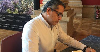 صور.. وزير الآثار يزور المتاحف العلمية والبيوت الأثرية فى موناكو
