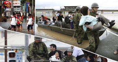 اليابان تحت رحمة الأمطار.. 81 قتيلا و63 مفقودا