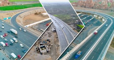بعد قليل.. الرئيس السيسى يفتتح مشروعات الطريق الدائرى ومحاور النيل