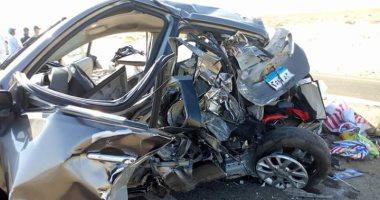 إصابة 4 أشخاص فى حادث تصادم على الطريق الدولى الساحلى بكفر الشيخ