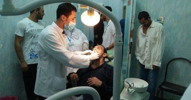 """""""صحة القليوبية"""" تنظم قافلة طبية لقرية كفر سعد بشبين القناطر"""