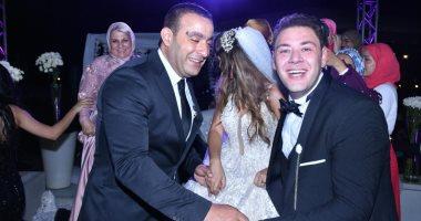 حفل زفاف محمد على رزق إلى المذيعة سارة فهيم بحضور نجوم الفن