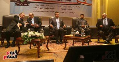 """انطلاق مؤتمر """"معا من أجل مصر"""" بجامعة عين شمس"""
