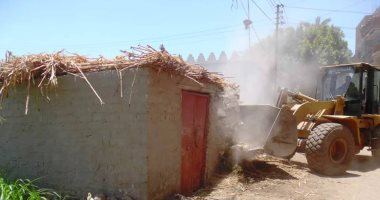 زراعة كفر الشيخ: إزالة 22 حالة تعدٍ وتوزيع 65 ألف طن أسمدة