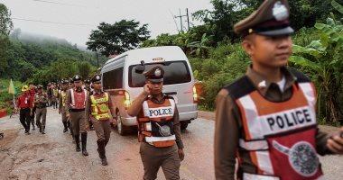 جهود مكثفة لإنقاذ أطفال الكهف فى تايلاند