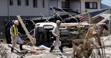 اليابان تواصل البحث عن ناجين بعد مصرع 141 شخصا بسبب الأمطار