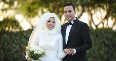 حفل زفاف أحمد خيرى  الغريانى على العروسة اسماء مطر