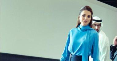 الملكة رانيا تشيد بالأكاديمية الدولية للثقافة الشركسية خلال زيارتها