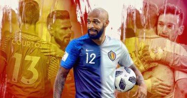 فيديو.. تييرى هنرى يقف على كل منصات التتويج فى كأس العالم