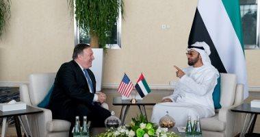 صور.. محمد بن زايد يلتقى وزير الخارجية الأمريكى فى أبو ظبى