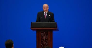 أبو الغيط يؤكد لوزيرة خارجية السودان دعم الجامعة للحكومة الانتقالية