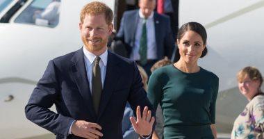 الأمير هارى وزوجته ميجان يصلان إلى دبلن فى أول زيارة للخارج منذ زفافهما