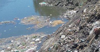 شكوى من تراكم القمامة بترعة السخاوى فى كفر الشيخ