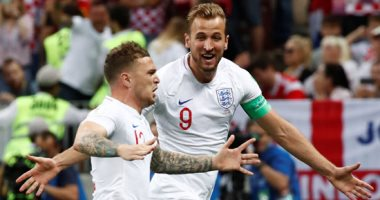 مباراة سابقة بين انجلترا وكرواتيا