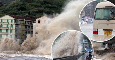 مقتل 15 شخصا وتضرر مئات الآلاف بسبب الفيضانات فى الصين