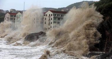 إجلاء 8 آلاف شخص وإغلاق المدارس والمصانع بسبب إعصار ماريا شرقى الصين