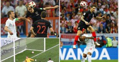 كرواتيا تقهر إنجلترا وتصطدم بفرنسا فى النهائى