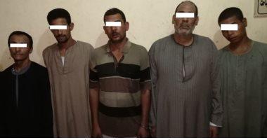قوات الأمن تنجح فى ضبط 20 قطعة سلاح نارى و35 من العناصر الإجرامية الخطرة