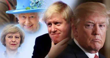 """بعد حديثه عن لقاء محتمل مع الوزير المستقيل """"جونسون"""" خلال زيارته للندن.. هل يدعم ترامب الإطاحة برئيسة وزراء بريطانيا؟.. رئيس أمريكا يقلل من شأن """"ماى"""" بالإصرار على لقاء إليزابيث.. ودبلوماسى يصفه بـ""""ضيف من الجحيم"""""""