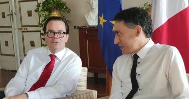 سفير فرنسا بمصر: نمول مشروع لتنقية مياه الصرف بالإسكندرية بـ50 مليون يورو