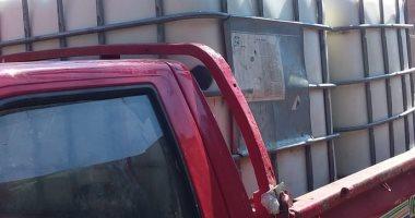 ضبط سيارة محملة بـ 2 طن ألبان غير صالحة للاستهلاك الآدمى ببنى سويف