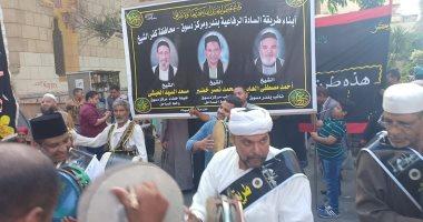 انطلاق مسيرة للاحتفال بالليلة الختامية بمولد أبو العباس المرسى بالإسكندرية