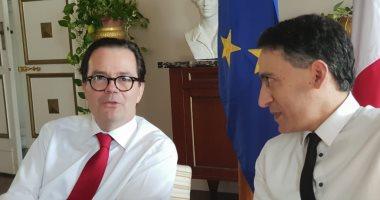 سفير فرنسا بالقاهرة: ماكرون يزور مصر قريبا.. وقرارات الرئيس السيسى شجاعة
