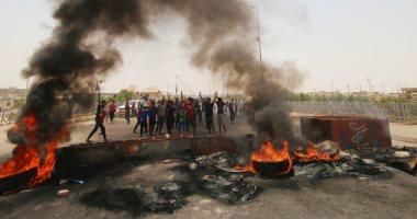 صور.. مظاهرات فى العراق للمطالبة بتحسين الخدمات وإيجاد فرص عمل