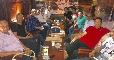 حفل عشاء يجمع جهاز منتخب مصر السابق لوداع هيكتور كوبر