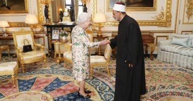 شيخ الأزهر لملكة بريطانيا: نفتح نوافذ الحوار مع الجميع لترسيخ قيم التعايش