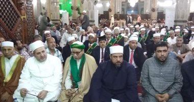 """أوقاف الإسكندرية والطرق الصوفية تحتفل بالليلة الختامية لمولد """"أبى العباس"""""""