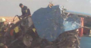 مصدر أمنى: حادث انقلاب أتوبيس الإسكندرية مطروح بسبب السرعة الزائدة