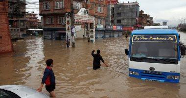مصرع 23 شخصا جراء سيول وانهيارات أرضية فى نيبال