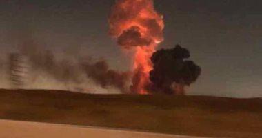 الطيران: الحريق خارج مطار القاهرة بجوار مصنع كيماويات.. واستمرار الحركة الجوية
