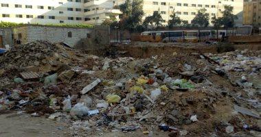 قارئ يشكو تحول قطعة أرض فضاء لمقلب قمامة بزهراء مدينة نصر