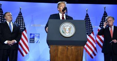ترامب: أنا عبقرى ويمكننى الانسحاب من الناتو دون موافقة الكونجرس