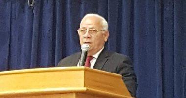 محافظ بورسعيد يلتقى وزير الإسكان لبحث المشروعات المقامة على المحافظة