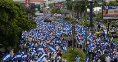 """صور.. مظاهرات نيكاراجوا عرض مستمر للمطالبة بإقالة الرئيس """"أورتيجا"""""""