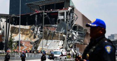 صور.. انهيار مركز للتسوق فى مكسيكو سيتى