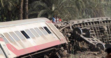 استئناف حركة قطارات الصعيد.. وتشغيلها على سكة مفردة بمنطقة حادث المرازيق