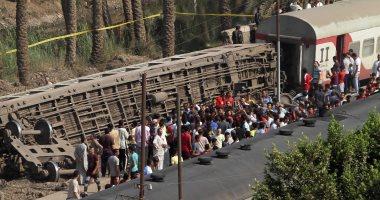 إحالة 4 مسئولين بالسكة الحديد للمحاكمة العاجلة بحادث تصادم قطارى الإسكندرية