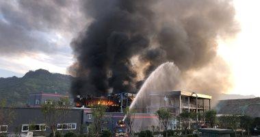 إجلاء 200 مريض من مستشفى شرق الهند بعد اندلاع حريق ضخم