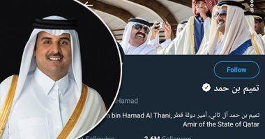 بعد قرار تويتر.. تعرف على عدد المتابعين المحذوفين لتنظيم الحمدين