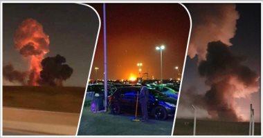 فيديو.. استمرار الرحلات بمطار القاهرة دون تأثر بانفجار مصنع الكيمياويات