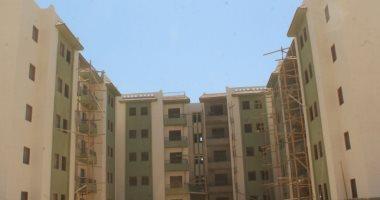 صور.. الإسكان: جار تنفيذ 1000 وحدة سكن اجتماعى فى أسوان الجديدة
