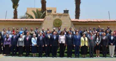 وزيرة الهجرة تلتقى أعضاء التمثيل الدبلوماسى العسكرى المرشحين للعمل بسفاراتنا