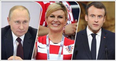 كأس العالم 2018.. تعرف على قائمة كبار الزوار فى نهائى فرنسا وكرواتيا