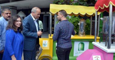 صور..محافظ القليوبية: مشروع سيارات الطعام المتنقلة فاتحة خير على الشباب