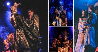 """فرقة جامعة المنصورة تقدم مسرحية """"هاملت"""" بالمهرجان القومى للمسرح"""